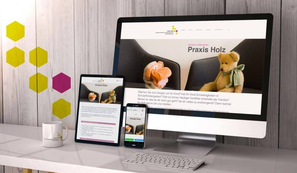 responsive Webseite